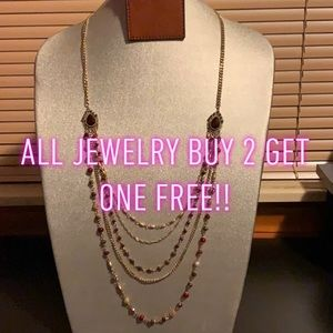 BUY 2 GET 1 FREE ON ALL JEWELRY!